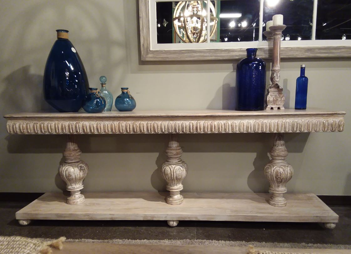 Home Accents 3 Tier Console.JPG